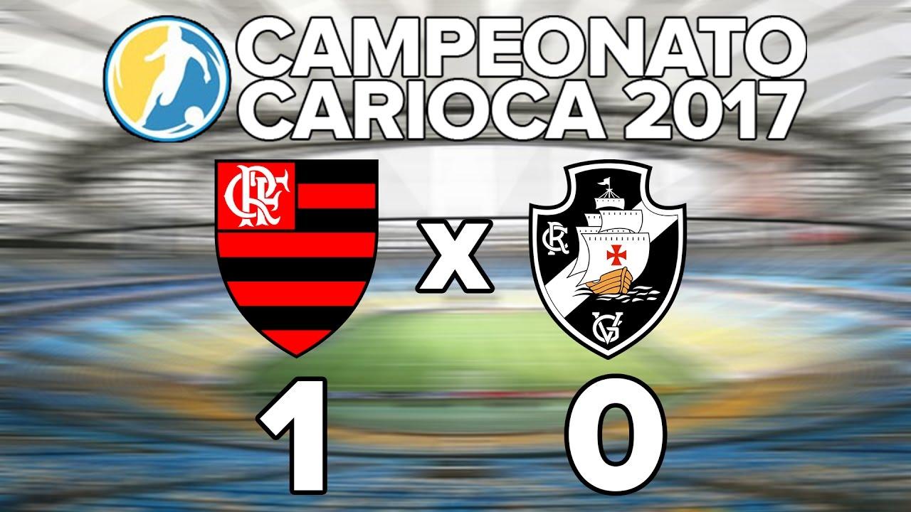 2d68cd16b8c71 Flamengo 1 X 0 Vasco - Semifinal Taça GB - Campeonato Carioca 2017 ...