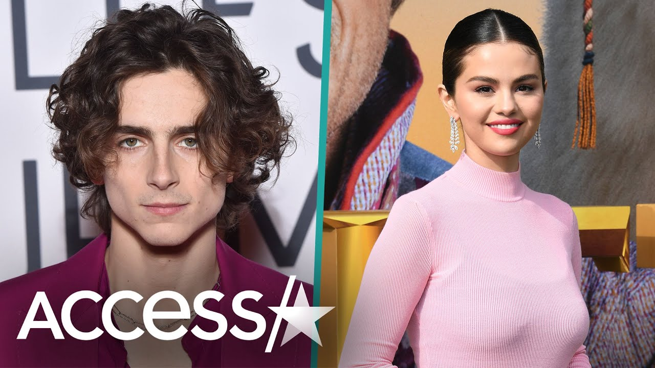 Selena Gomez & Timothée Chalamet Go On IG Live While He Waits To Vote