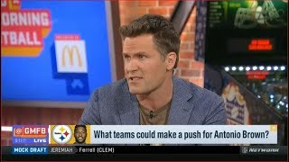 What other teams could make a push for Antonio Brown?