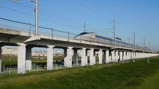 95・210411500系Ⅴ7編成こだま863号博多行・江井ヶ島付近通過