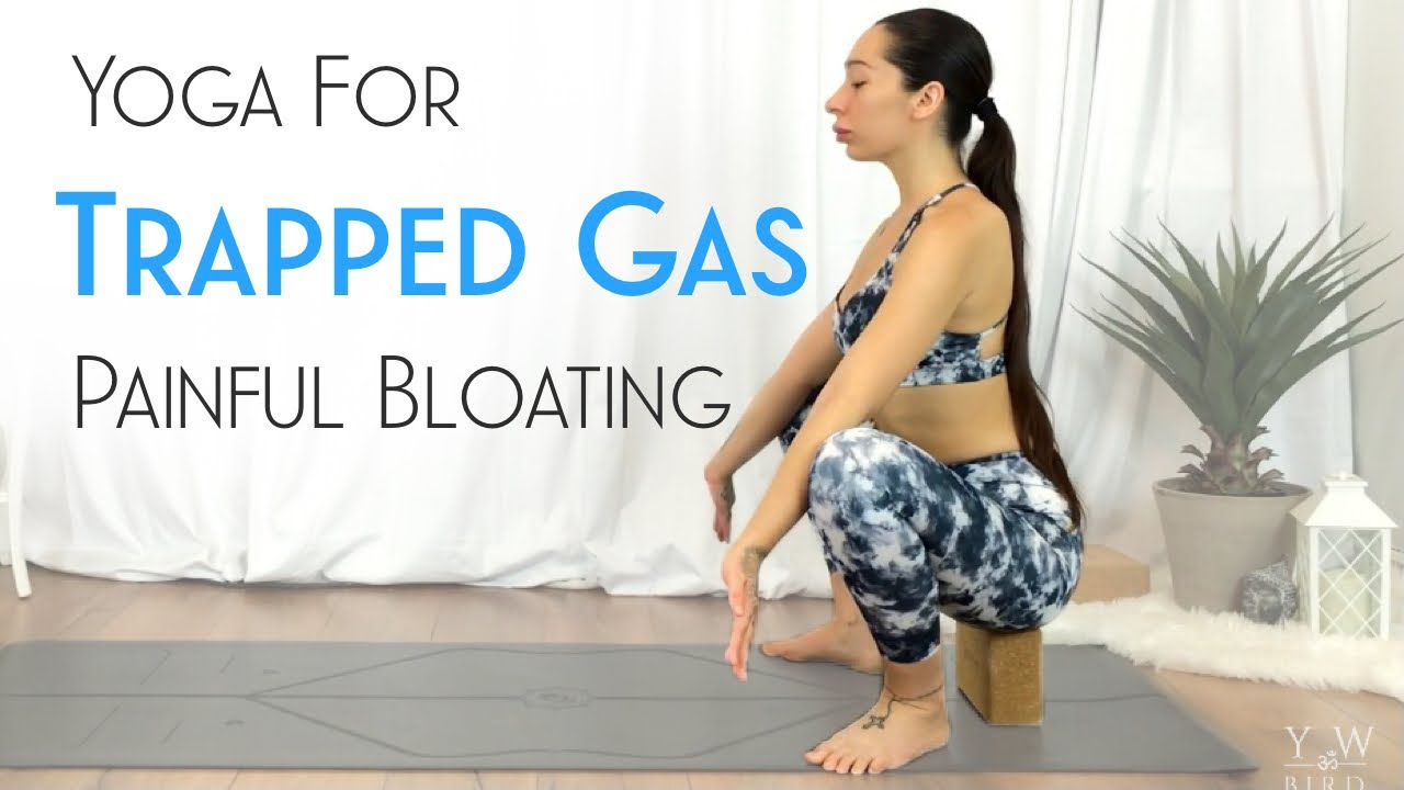 Yoga For Digestion Gas Bloating Youtube