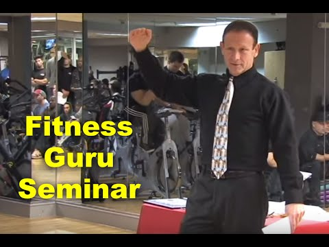 Andrew Levine, Fitness Guru, Speaking at Synergy Fitness Clubs (part 1 of 2)