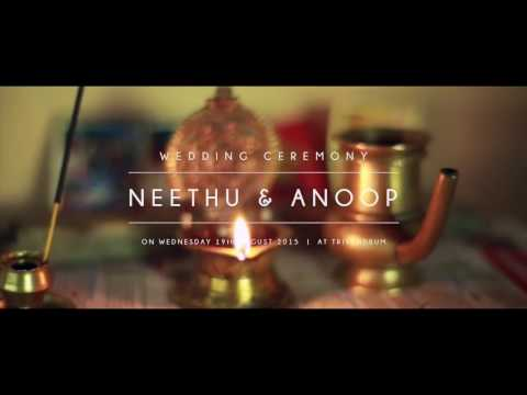 Weva Photography - Wedding Highlights Of Anoop + Neethu