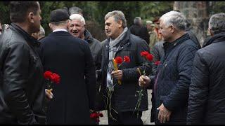 В Тбилиси почтили память солдат, погибших в афганской войне