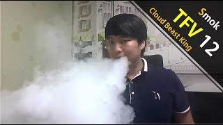 미친 무화량. 스모크 TFV12 RBA (Smok TFV12 Cloud beast King RBA)