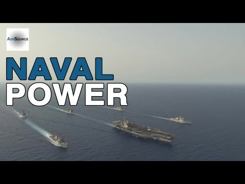 Most Feared Naval Power in the World - U.S. Navy Nimitz Carrier Strike Group