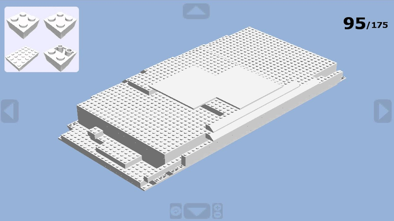 How to make a lego wii u console youtube for Consolle lago