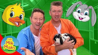 Learn about Farm Animals | Educational Farm Videos for Kids | The Mik Maks 'Day Out'