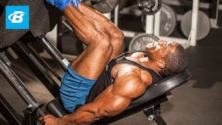 Lawrence Ballenger's Xxl Leg Workout - Bodybuilding.com