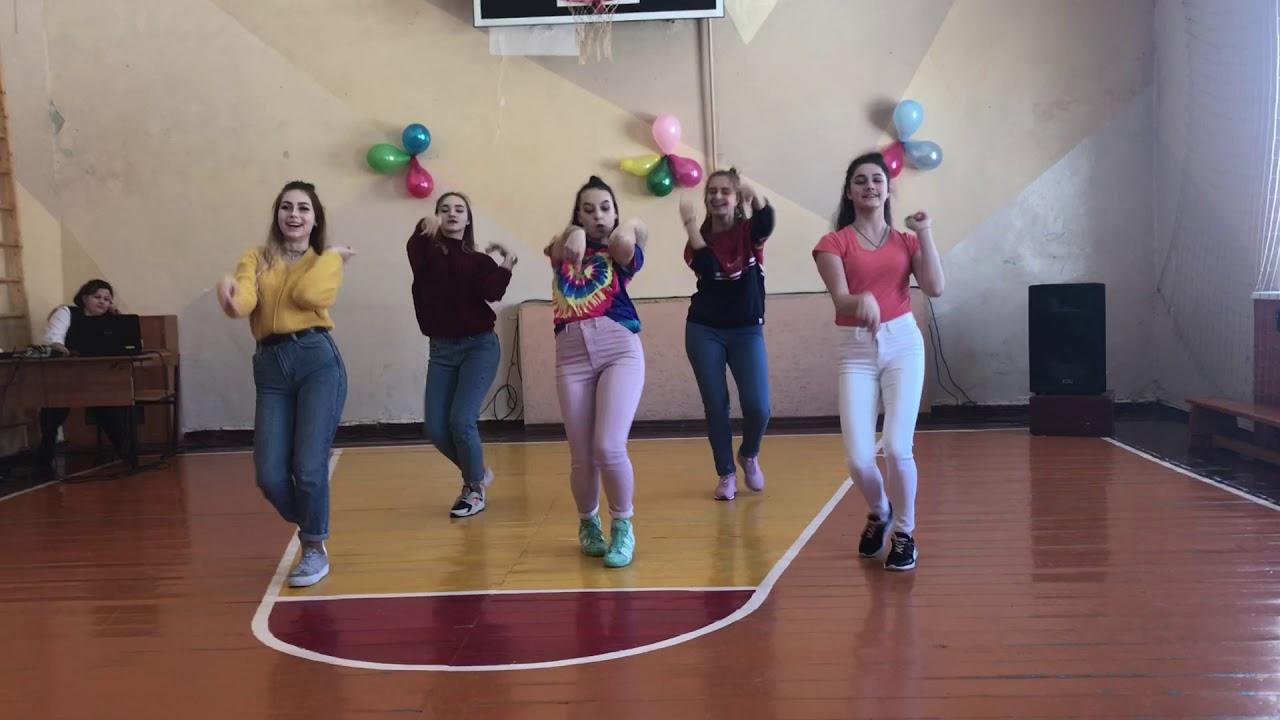 Поздравление танец на 8 марта  (флешмоб)