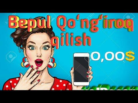 ISTALGAN JOYGA BEPUL QOʻNGʻIROQ QILISH!!!