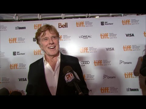 "Robert Redford on ""The Company You Keep"" red carpet"