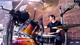 예수 피 밖에 Nothing But The Blood 워십빌더스 drummer 엄주원 gretsch usa custom drums worship drumming gopro hero