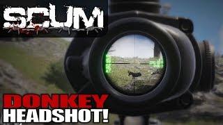 DONKEY HEADSHOT!   Scum   Let's Play Gameplay   S01E08