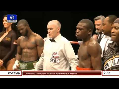Ghanaian Boxer Well Beaten For Disrespecting Nigerian Flag - Analyst 02/11/15
