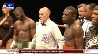 Ghanaian Boxer Well Beaten For Disrespecting Nigerian Flag - Analyst 02/11/15