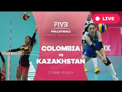 Colombia v Kazakhstan - Group 3: 2016 FIVB Volleyball World Grand Prix