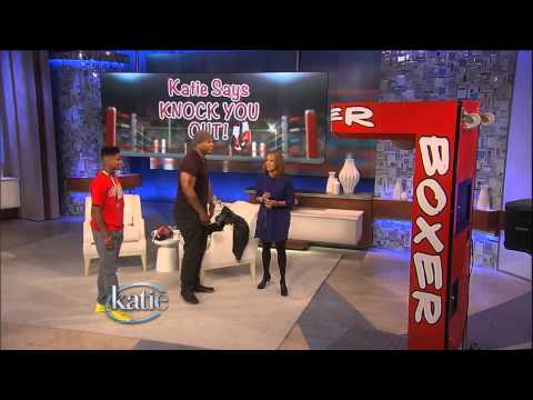 Katie Couric & LL Cool J Boxing Showdown!