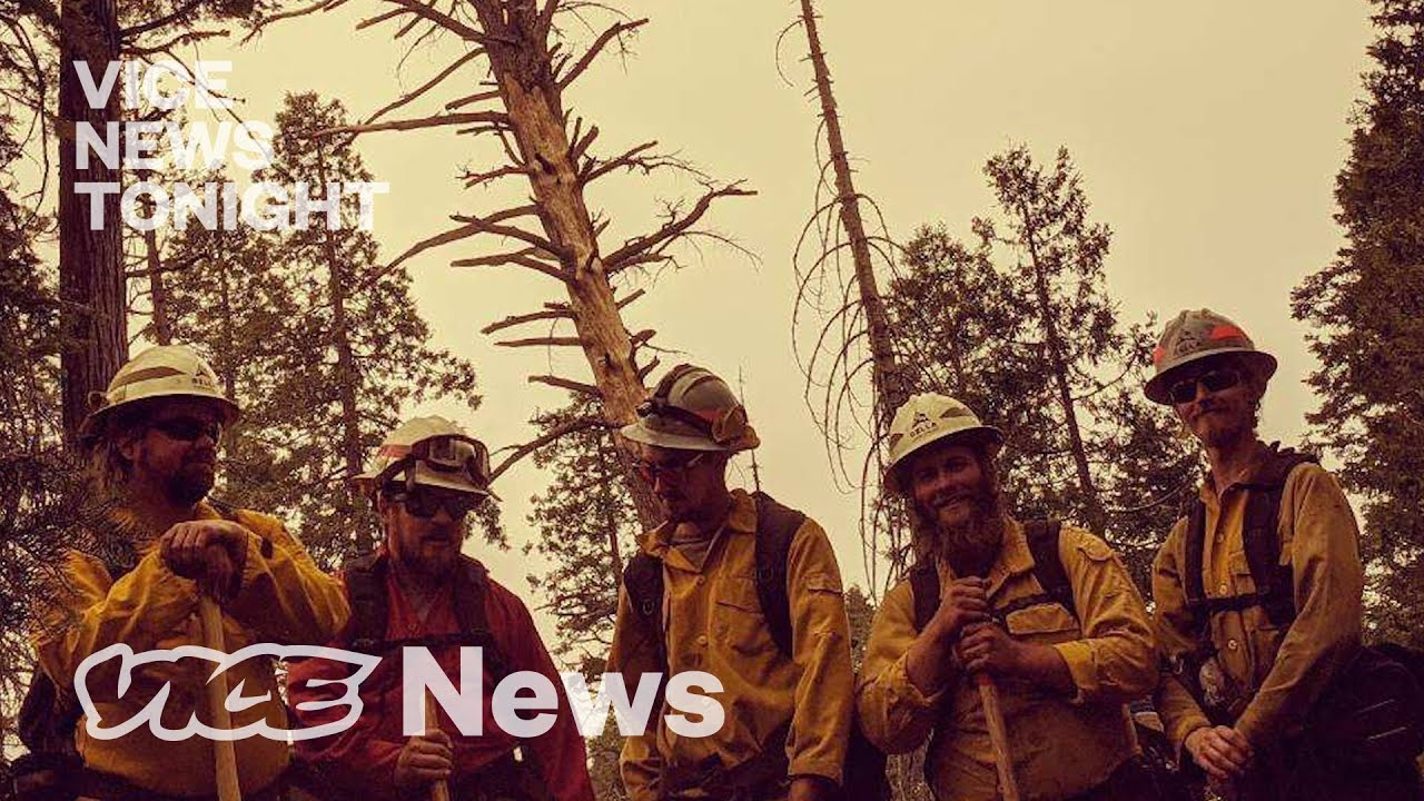 The Controversial Rise of Private Firefighters in California VICE NEWS 28DEC20