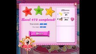 Candy Crush Saga Level 472 ★★★ NO BOOSTER