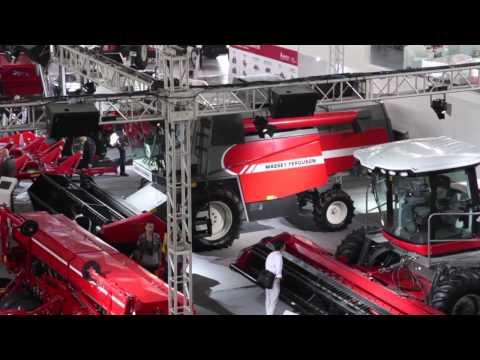 China International Ag Machinery Exhibition 2012 - Day One: Massey Ferguson In China (English)