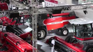 China International Ag Machinery Exhibition 2012 - Day One: Massey Ferguson In China (English)
