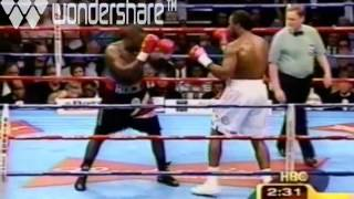 Mr. Mack Lewis World Heavy Weight Champion Hasim Rahman knocks out Lennox Lewis