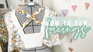 How to Sew A Facing  |  Sewing Skills Series  |  Part Five