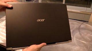 Acer Aspire V17 Nitro - Black Edition (2017) Hands-on | English