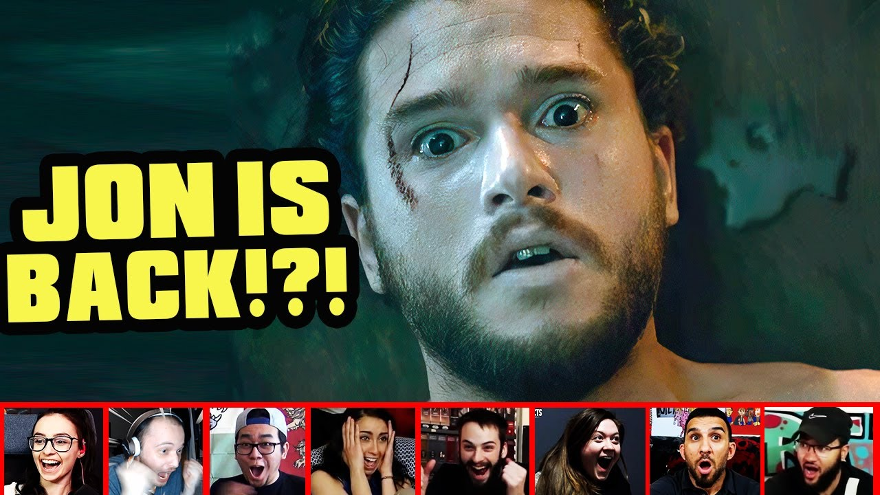 Reactors Reaction To Seeing Jon Snow Bewildering Revival On Game Of Thrones   Mixed Reactions