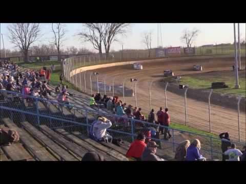 Super Late Model Heat #1 from Florence Speedway, April 8th, 2017.