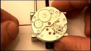 ETA UNITAS 6498 -1 SWISS MADE MECHANICAL WATCH MOVEMENT SIMILAR TO 6497