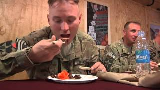 http://www.MilitaryChefs.com - Iron Chef Afghanistan - Forward Operating Base Masum Ghar