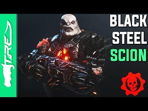"Gears of War 4 Multiplayer Gameplay - ""Black Steel Scion"" Gameplay (Gears of War 4 Epic Character)"