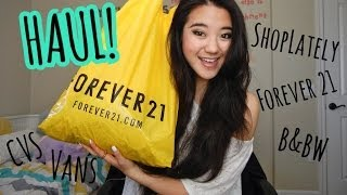 HAUL: Forever 21, ShopLately, CVS, & more! Thumbnail