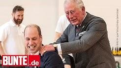 Prinz William - Unter großem Gelächter: Charles hilft ihm zu schummeln
