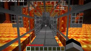 Minecraft - The Nether - Secure fast-travel and buildings thumbnail