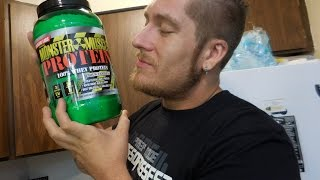 A quick review of Colossal Labs Monster Muscle Protein