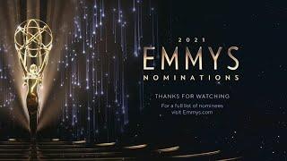 Emmy Award nominations 2021