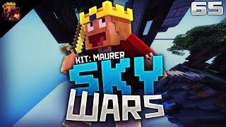 EINFACH DIREKT IN DIE MITTE! ♛ Minecraft SkyWars #65