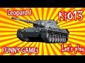 Funny Games - Веселая зарисовка Leopard 1 ( Леопарды в цирке на манеже ) World of Tanks #WoT