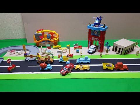 Polisler-Yarış arabası l Cops chase the Racing Car l Bebek Şarkıları | Kids Songs and Nursery Rhymes