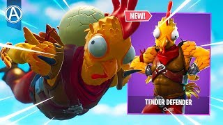 "Pro Console Player / / NEUE ""TENDER DEFENDER"" SKIN / / 1400+ Siege (Fortnite Battle Royale LIVE PS4)"