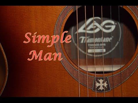 """Tutorial chitarra """"Simple man"""" di Lynyrd Skynyrd"""