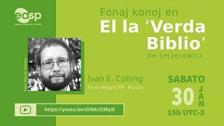 """Ivan E. Colling: Kulturaj fonoj en """"El la Verda Biblio"""""""