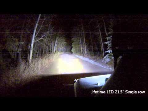 Lifetime LED Light Bar Comparison