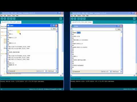 How to pair two HC 05 modules using AT commands