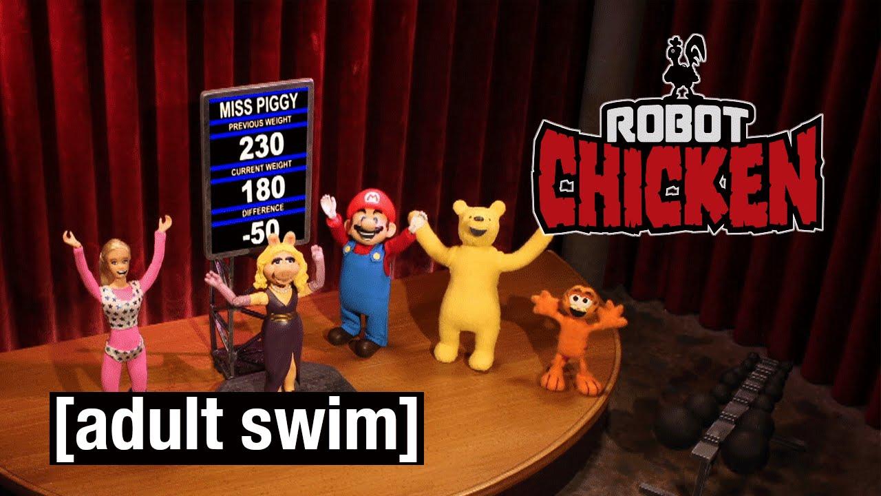 wer verliert gewinnt robot chicken adult swim youtube. Black Bedroom Furniture Sets. Home Design Ideas