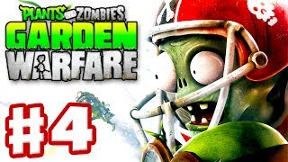 Plants vs. Zombies: Garden Warfare - Gameplay Walkthrough Part 4 - All Star Vanquish (Xbox One)
