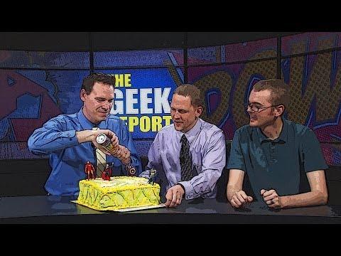 Geek Report Season Finale, insidesales.com, 3D Printing, and the Week in Geek